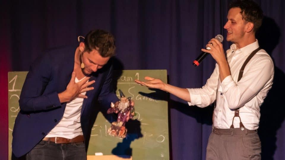 Ausgezeichnet ist Ben David als Platz 1 in Hamburg beim Phantasma Slam.
